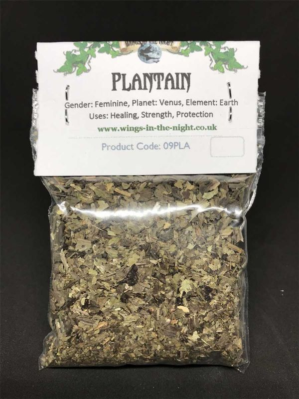 PLANTAIN Dried Spellcraft Herb